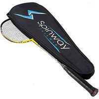 Spinway Badminton Tornado Power M1 Racket Professional Hot Melt Lightweight (with Cover Bag )