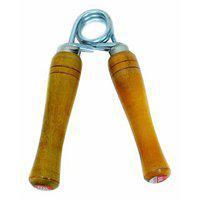 Aryshaa Wooden Made Hand Grip Strengthener Finger Gripper Hand Grippers Hand Clincher (wooden) Pack Of 1