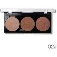 Miss Rose Professional 3 Shades Glow Kit Highlighter 02
