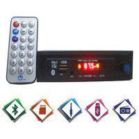 Prp Collections 057 Single Din Bluetooth Mini Car Stereo With Volume Control Knob