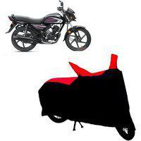 Abp Premium Red With Black-matty Bike Body Cover For Honda Dream Neo