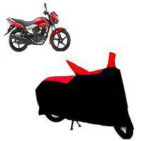 Abp Premium Red With Black-matty Bike Body Cover For Yamaha Saluto