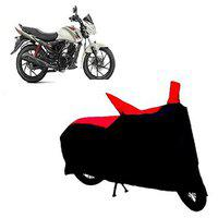 Abp Premium Red With Black-matty Bike Body Cover For Mahindra Centuro