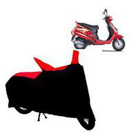 Abp Premium Red With Black-matty Bike Body Cover For Mahindra Duro