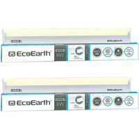 Ecoearth Lumnea 6 Watt 1 Feet Led Tubelight (pack Of 2 Yellow) - Neutral White