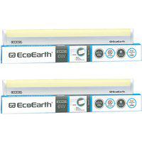 Ecoearth Lumnea 6 Watt 1 Feet Led Tubelight (pack Of 2 Golden/yellow) - Warm White