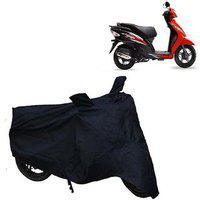 Abp Premium Black-matty Bike Body Cover For Tvs Wego