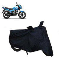 Abp Premium Black-matty Bike Body Cover For Tvs Victor