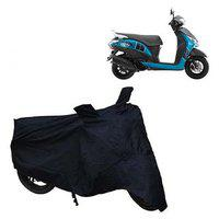 Abp Premium Black-matty Bike Body Cover For Yamaha Fascino