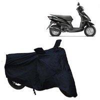 Abp Premium Black-matty Bike Body Cover For Suzuki Let's