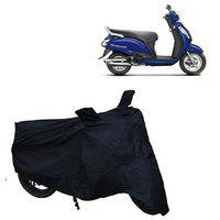 Abp Premium Black-matty Bike Body Cover For Suzuki Access 125