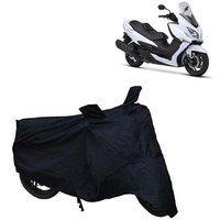 Abp Premium Black-matty Bike Body Cover For Suzuki Burgman