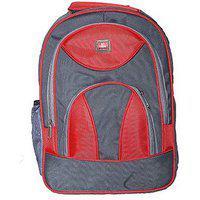 Trekkers Need Backpack Red Pithu School Bag 20 L Backpack(red, Grey)