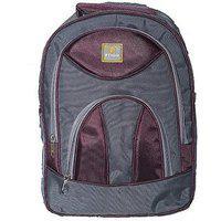 Trekkers Need Backpack Purple Pithu School Bag 20 L Backpack(purple, Grey)