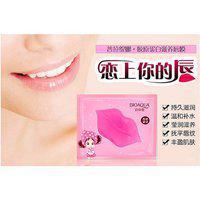Bioaqua 3 Pcs Lip Plumper Crystal Collagen Lip Mask Pads Moisture Essence Anti Ageing Wrinkle Patch Pad Gel Full Lips
