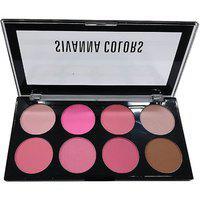 Sivanna Colors Matte Ultra Blush Palette (04)