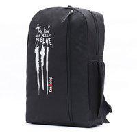 Leerooy Nylon 19 Ltr Black Shoulder Bag Backpack For Women