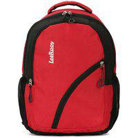 Leerooy 21 Ltr Red Office Bag Backpack For Women