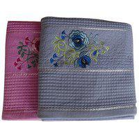 Pyaro Hifi Cotton Bath Towel Set - Combo Of 2