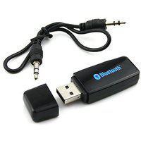 Favourite Deals V2.1 plus edr Car Bluetooth Device With Aux Connector ( Black )