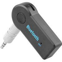 Shopeleven Wireless Bluetooth Receiver Adapter 3.5mm Aux Audio Stereo Music Home Hands Free Car Kit For Tata Nexon