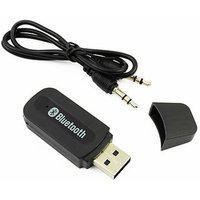 Favourite Deals V2.1 plus edr Car Bluetooth Device With Audio Receiver (black)