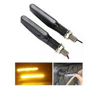 Autosun Ktm Type Yellow Led Indicator Turn Signal Lights Blinkers For All Bikes Motorcycle