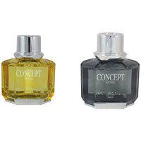 Concept Car Perfume Yellow 70ml Fresh Lemon Black Pine 70ml