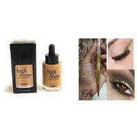 High Beam Shimmer Rose Gold Highlighter With 1 Shine Pen Liner ( Assorted ) 35 Ml