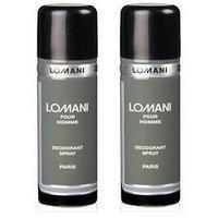Combo Of 2 Lomani Deodorant Men 200ml