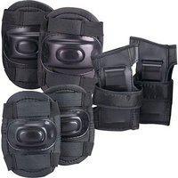 Hipkoo Protection Guard 3 In 1 (elbow Knee Hand Guard) Skating Kit