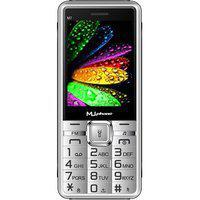 Mu Phone M7 Silver Colour Dual Camera Wireless Fm Power Saving Mode Talking Phone
