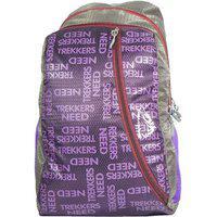 Trekkers Need 15 Litres Branding Backpacks (unisex) (purple)