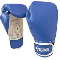 Hipkoo Sports Boxing Gloves (size 12 Oz) Boxing Gloves (blue)