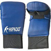 Hipkoo Adult Out Hands Boxing Gloves (blue)
