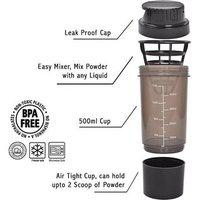 High Quality Cyclone Gym Sipper/shaker 500 Ml Shaker(assorted)