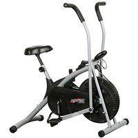 Branded Dual Functional Air Bike Exercise Bike. (body Gym)