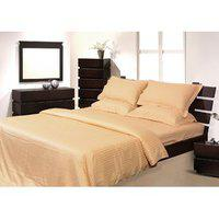 Mark Home Gold Color Duvet Cover