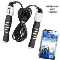 Super Premium Quality Brand Konex Skipping Rope Jump Rope With Counter Meter