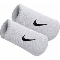 Verceys Long White Sports Doublewide Wrist Band - Pack Of 2