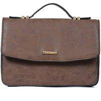 Diana Korr Brown Sling Bag Dk57sbrw