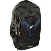 Apnav Black & Blue Waterproof Polyester Backpack