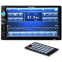 Soundboss 2din Bluetooth Car Video Player 7 Hd Touch Screen Stereo Radio Fm/mp3/mp4/mp5/audio/usb/tf/aux/rear View Camera Connectivity