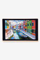 iBall Slide Elan 4G2 plus Tablet (16 GB, 4G LTE plus Wi-Fi plus Voice Calling) Gold Cobalt Brown