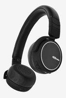 Portronics Muffs R On the Ear Wireless Bluetooth Headphone with Mic and Aux Cable, POR 004 (Black)