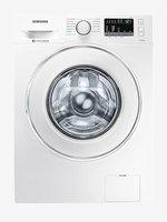 Samsung 8 kg Inverter Fully-Automatic Front Load Washing Machine with Heater (WW80J44G0IW,White)