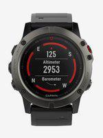 Garmin Fenix 5X Fitness Tracker (Grey/Black)