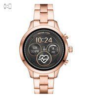 Michael Kors Runway Black Dial Smart Watch for Women