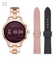 Michael Kors Runway Multi Dial Smart Watch for Women with Strap Set Combo