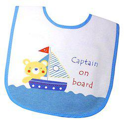 Tollyjoy Captain on Board Bib (Multi color)